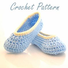 Cottage Slippers Crochet Pattern