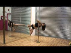 Beginner Pole Dancing Lesson: How To Do A Basic Inverted V Step By Step Guide, - YouTube