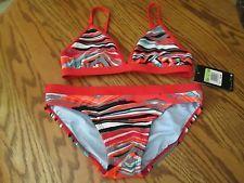 Nike Women's 2 piece bathing suit Bikini swim wear Size 4, NWT