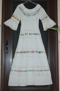 Mexican wedding dress. I Love this!
