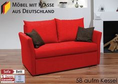 Schlafsofa Till Gästebett Bettsofa Schlafcouch Bettcouch Koralle 3123. Buy now at https://www.moebel-wohnbar.de/schlafsofa-bettsofa-sofa-m-funktion-koralle-3123