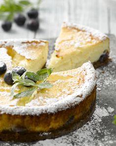 Cheesecake met bosbessen