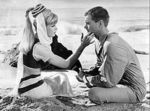I Dream of Jeannie was a fun show that aired 9/18/1965 on NBC in black and white but by 1966 all networks prime time series were being made in color. Barbara Eden can still fit in her costume.The show ran until May 26, 1970. It can still be seen in syndication. Pat Schwab