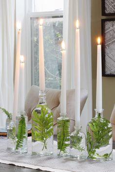 Scandinavian Christmas Decorations, Banquet Tables, Deco Floral, Diy Wedding Decorations, Spring Decorations, Cheap Table Decorations, Banquet Table Decorations, Dinner Party Decorations, House Decorations
