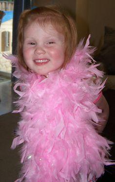 Kid size feather boas!!