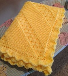 Treasured Heirloom Baby BlanketThis knit pattern is available as a free download... Download Pattern: Treasured Heirloom Blanket