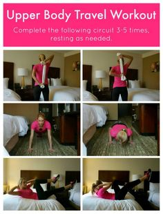 Upper Body Travel Workout | Bumble Bee®