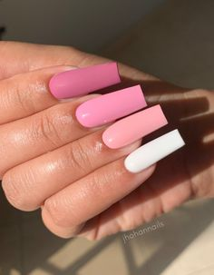 Long Square Acrylic Nails, Long Square Nails, Simple Acrylic Nails, Summer Acrylic Nails, Best Acrylic Nails, Spring Nails, Peach Nails, Purple Nails, Pastel Nails