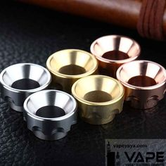 Stainless steel copper brass 528 tough guy drip tips for smok tfv8 tfv12 tank / kennedy rda