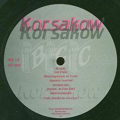 """Korsakow – Line Vision 12"""" BCC Music – BCC 13"""
