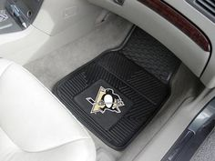 Pittsburgh Penguins Heavy Duty 2-Piece Vinyl Car Mats