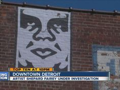 As countless murders go unsolved. Detroit wastes their time with this. DISOBEY all day. Warrant issued for arrest of graffiti artist Shepard Fairey -