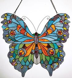 Butterfly Stained Glass - Acacia