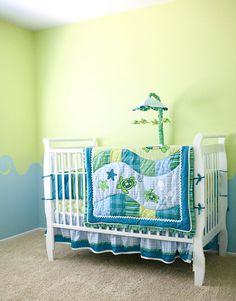Baby Boy Turtle Room!