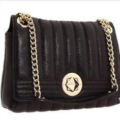 Kate Spade Black Quilted Shoulder Bag