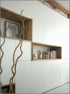 17 Best images about besta ikea Best Kitchen Layout, Kitchen Layout Plans, Kitchen Decor Themes, Room Decor, White Storage Cabinets, Kitchen Storage, Ikea Living Room, Wooden Dining Tables, Room Shelves