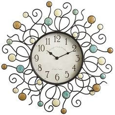 Stones Patio Clock - This would be cute over the tall dresser