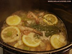 """From Nola Cuisine Chefs and cookbook authors alike sound like broken records when discussing stocks, """"...there is no substitute for a well made stock."""" But hey, it's true. There really is no substi..."""