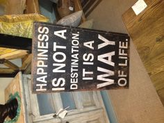 It's true! This and other inspirational signs available at Girard Avenue Collection in La Jolla.