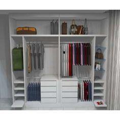 Image result for guarda roupa planejado com sapateira