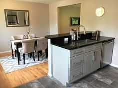 Transitional Style Kitchen Remodel By BlankSpace LLC, Pittsburgh PA. Open  Concept Into Dining