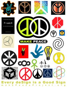 What Sign or deSign are you? Find out about Make Peace project