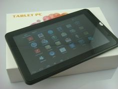 100USD OEM 10.2 inch Android 4.0 Tablet Amlogic OEM Orders Welcome