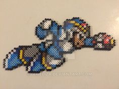 Mega Man X Perler Beads by iameliza