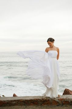 style me pretty - real wedding - mexico - puerto vallarta wedding - casa garza blanca - bride