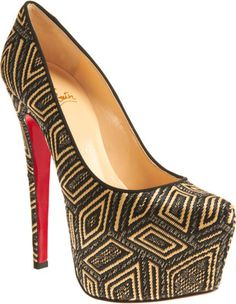 The print does it all - Louboutin
