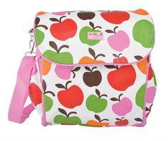 Kids Bags : Penny Scallan Nappy Bag ~ Apple