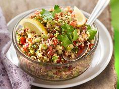 Découvrez la recette Taboulé quinoa sans cuisson sur cuisineactuelle.fr.