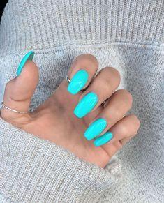 it] 36 Summer Nails for a Full Send! [Send it] 36 Summer Nails for a Full Send! - [Send it] 36 Summer Nails for a Full Send! Bright Summer Acrylic Nails, Blue Acrylic Nails, Bright Blue Nails, Summer Nail Colors, Summer Nail Polish, Acrylic Summer Nails Coffin, Cute Nail Colors, Cute Summer Nails, Nagel Tattoo
