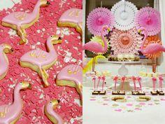Juhlahuuma: Flamingoiset 1-vuotis syntymäpäivät