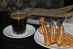 Café + Churros caseros