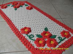 Passadeira de croche - Google Search
