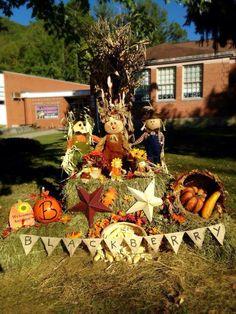Fodder Shock, Fall Decor, Fall Decorations, Hay, Corn Stalks