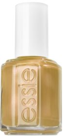 Shifting Power - Gold Glitter Nail Polish by Essie / a sizzling molten gold cream.