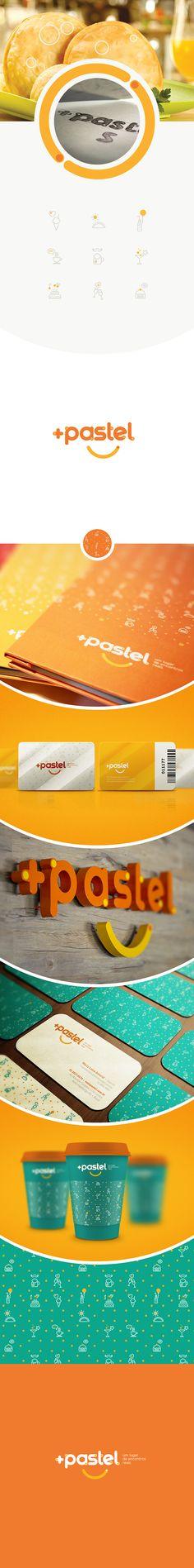 Identidade/logo para Mais Pastel.