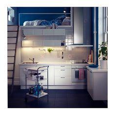 ÖSTHAMRA Armario de pared con 2 puertas vitr IKEA