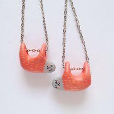sloth earrings!
