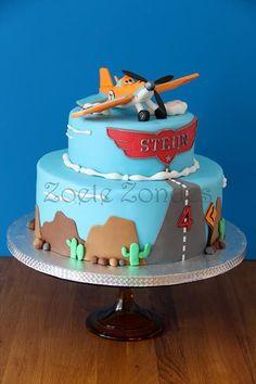 Disney Pixar Planes cake