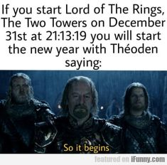 Now I just have to figure out how to marathon all Hobbit movies and the Fellowship of The Ring and still start The Two Towers on time.