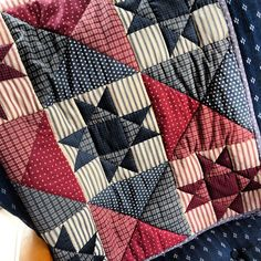 """my """"learn to hand quilt"""" quilt"""