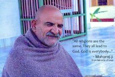 """Everybody is God."" ~Mahara-ji from Miracle of Love"