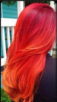 DIY Hair: 10 Red Hair Color Ideas #hair #fashion