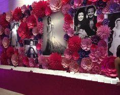Prinses papier bloem achtergrond-grote door LavishInspirations