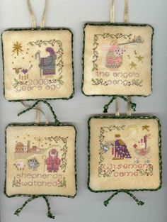 shepherds bush cross stitch christmas ornaments