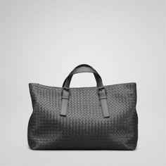 Bottega Veneta bags and Bottega Veneta handbags Bottega Veneta Nero  Intrecciato Light Calf Tote III  413 2a5531c6a4