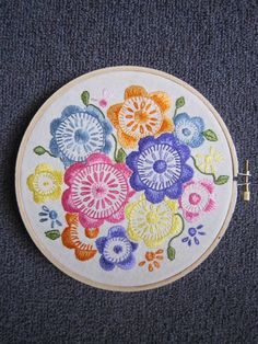 silk thread embroidery - if I practice enough I am going to attempt this, someday :)